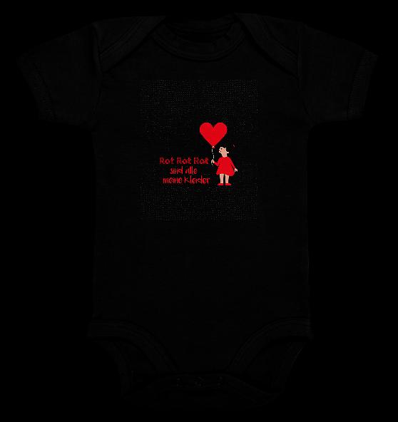 Rot Rot Rot – Baby Body Strampler