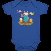 Eulen - Baby Body Strampler