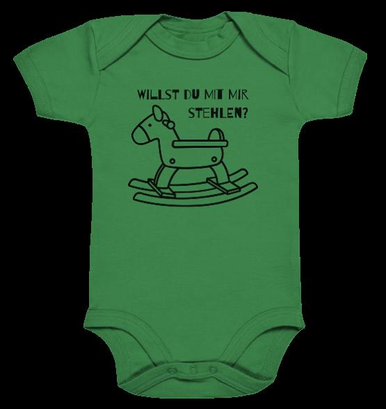 Willst du mit mir Pferde stehlen - Baby Body Strampler