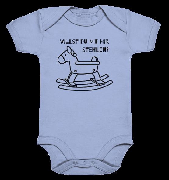 Willst du mit mir Pferde stehlen – Baby Body Strampler