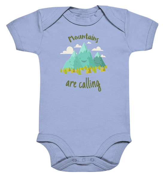 Mountains are calling  – Baby Body Strampler
