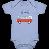 Love my big family – Baby Body Strampler