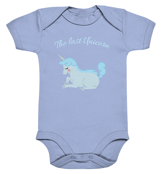 The last Unicorn – Baby Body Strampler
