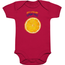 Just a yellow lemon tree – Baby Body Strampler