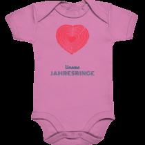 Unsere Jahresringe – Baby Body Strampler
