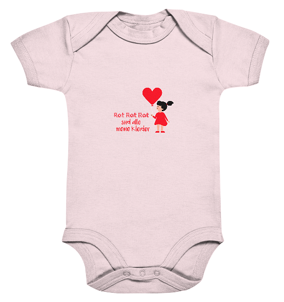 Rot ror rot – Baby Body Strampler