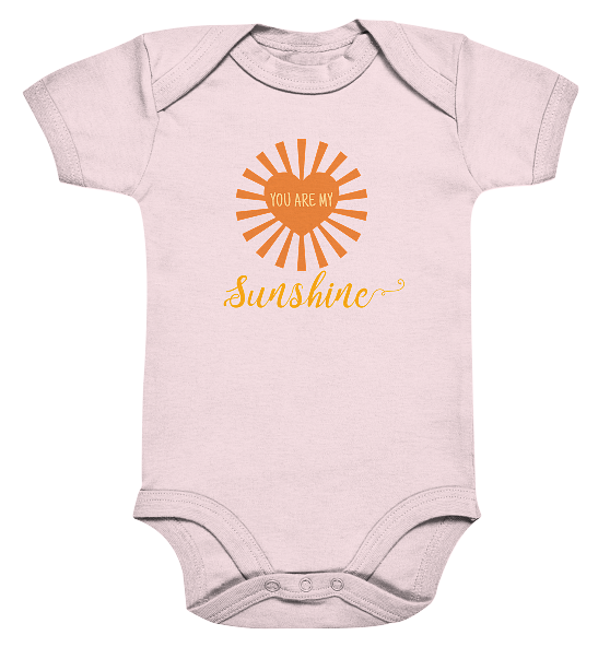 You are my sunshine – Baby Body Strampler