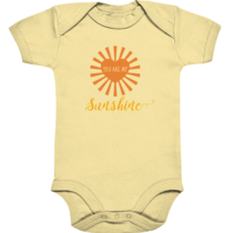 You are my sunshine - Baby Body Strampler
