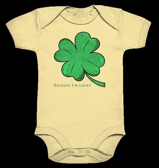 Because im lucky – Baby Body Strampler