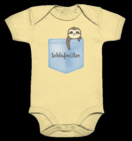 Schlafmütze – Baby Body Strampler