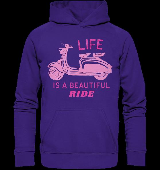 Life is a beautiful ride – Kinder Hoodie