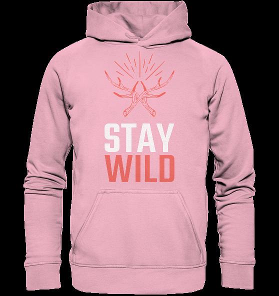 Stay wild – Kinder Hoodie