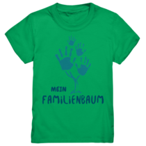 Mein familienbaum - Kinder T-Shirt
