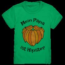 Mein Papa ist Hipstar - Kinder T-Shirt