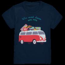 Wir sind dann mal weg- Kinder T-Shirt