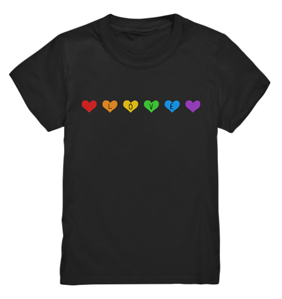 Love – Kinder T-Shirt