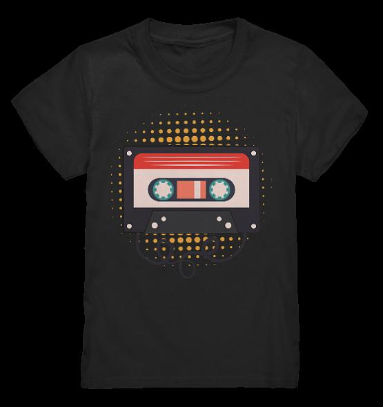 Kassette – Kinder T-Shirt