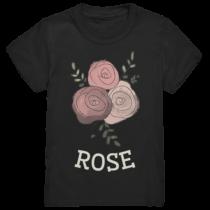 Rose - Kinder T-Shirt
