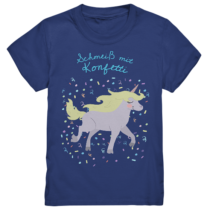 Schmeiß mit Konfetti - Kinder T-Shirt