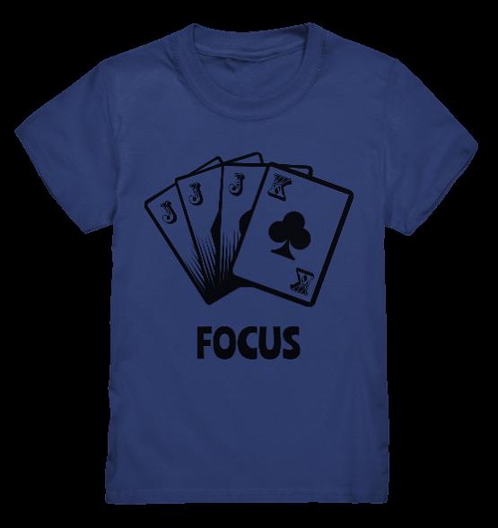Focus – Kinder T-Shirt