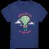 Flieg mit mir um die Welt- Kinder T-Shirt