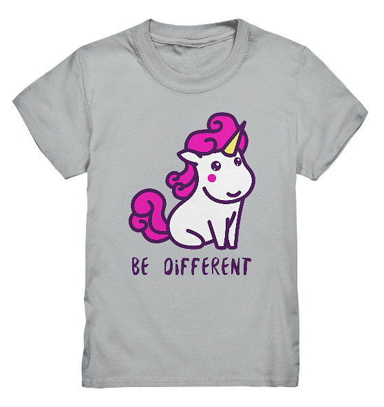Be Different – Kinder T-Shirt