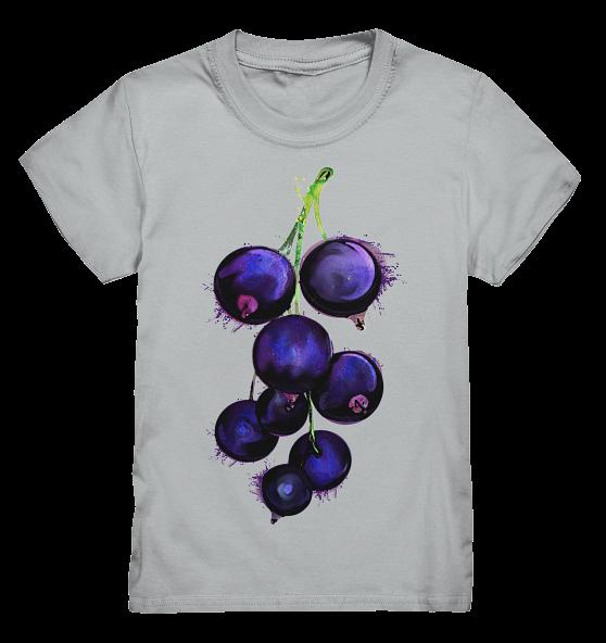 Heidelbeeren – Kinder T-Shirt
