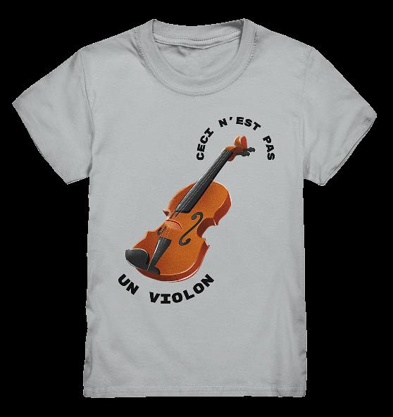 Das ist keine Geige – Kinder T-Shirt