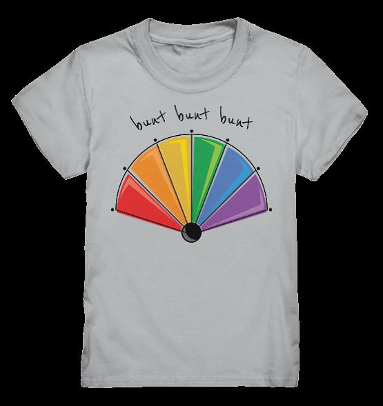 bunt bunt bunt - Kinder T-Shirt