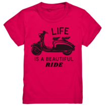 Life is a beautiful Ride – Kinder T-Shirt