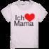 Ich liebe mama - Kinder T-Shirt