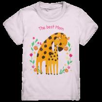The best mom - Kinder T-Shirt