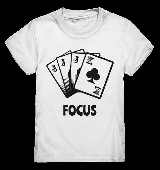 Focus - Kinder T-Shirt