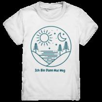 Ich bin dann mal weg – Kinder T-Shirt