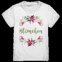 Blümchen - Kinder T-Shirt