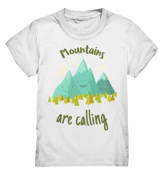 Mountains are calling – Kinder T-Shirt