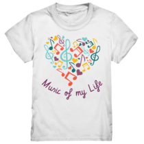 Music of my Life – Kinder T-Shirt