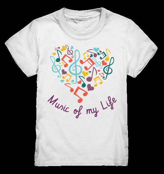 Music of my Life – Kinder T-Shirt