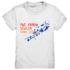 Mit farben spielen kann jeder - Kinder T-Shirt