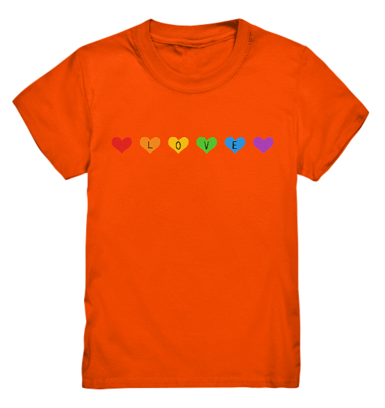 Love line - Kinder T-Shirt
