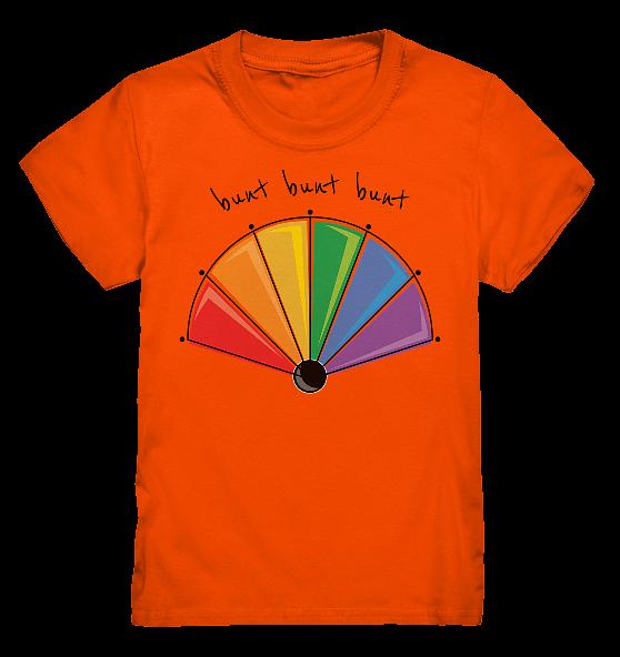 bunt bunt bunt – Kinder T-Shirt