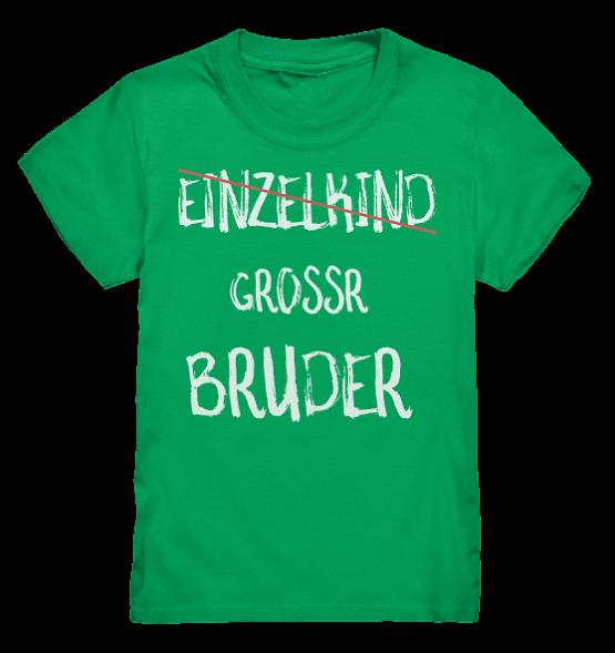 Einzelkind NEIN Grosser Bruder- Kinder T-Shirt