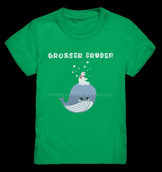 Großer Bruder Eisbär Waal  – Kinder T-Shirt