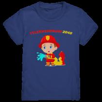 Feuerwehrmann 2040 - Kinder T-Shirt
