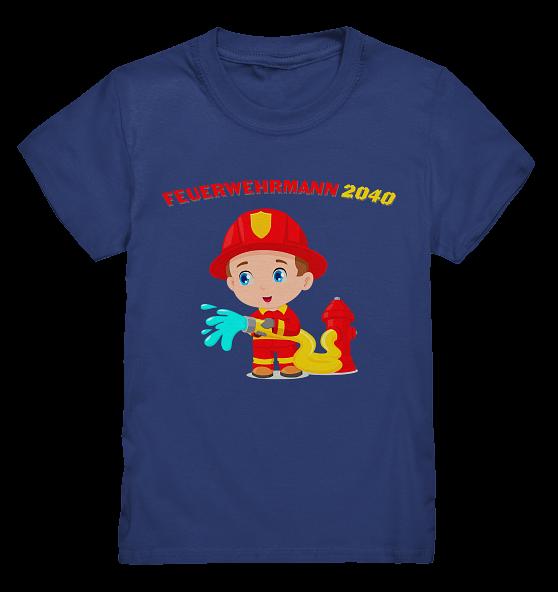 2040 werde ich Feuerwehrmann – Kinder T-Shirt