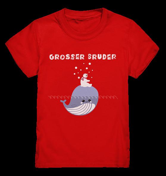 Grosser Bruder Waal Eisbär- Kinder T-Shirt