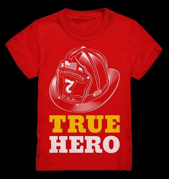 True Hero Feuerwehr- Kinder T-Shirt
